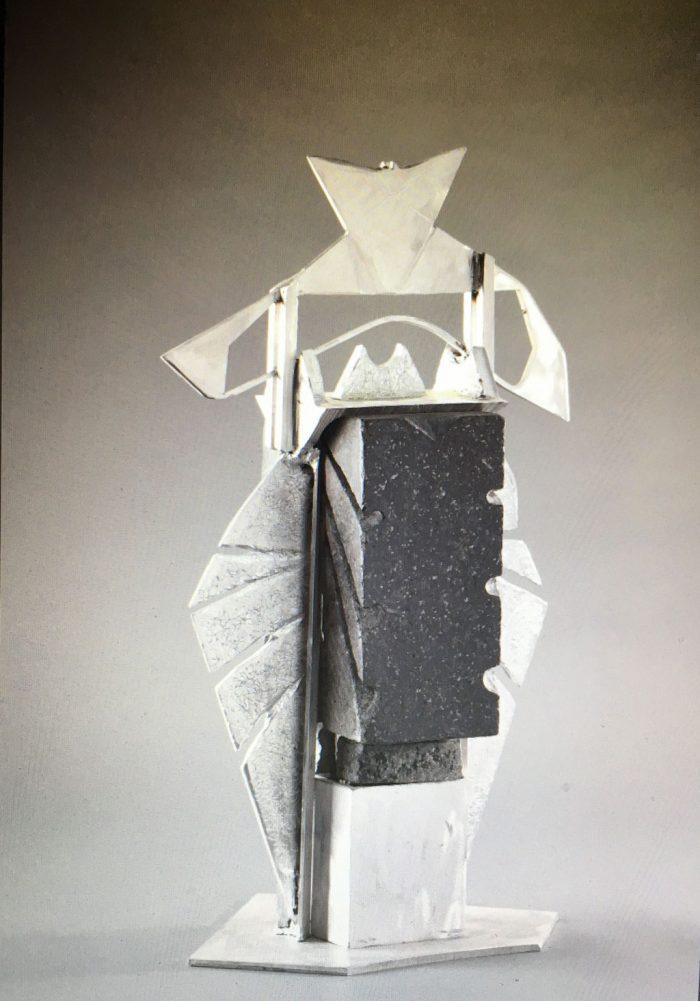 Hommage à Gabrielle Roy - Sculpture par A. Destroismaisons - 2020